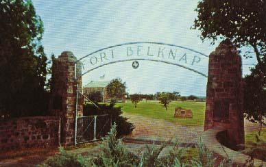 Picture of Gate at Fort Belknap