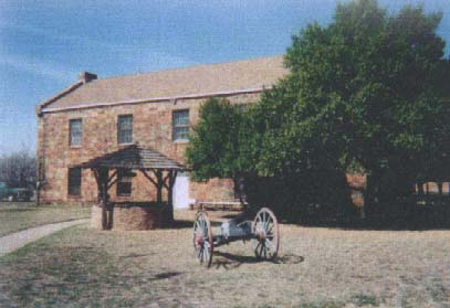 Picture of Grounds at Fort Belknap