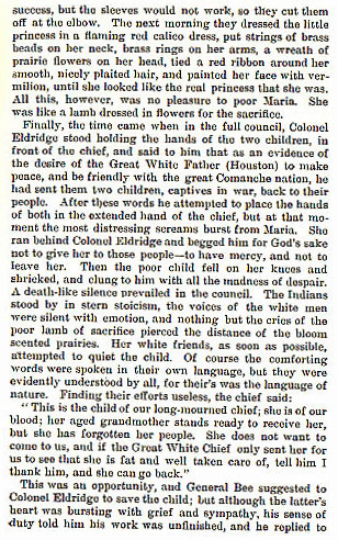 A Comanche Princess story from the book Indian Depredations in Texas by J. W. Wilbarger