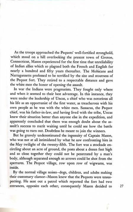 Pequot War by John Tebbel & Keith Jennison