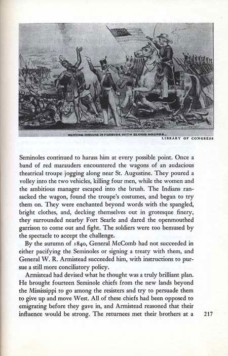 End of the Seminole War by John Tebbel & Keith Jennison