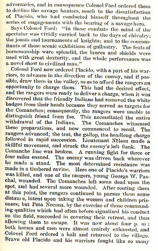 Battle of Antelope Hills story from the book Indian Depredations in Texas by J. W. Wilbarger
