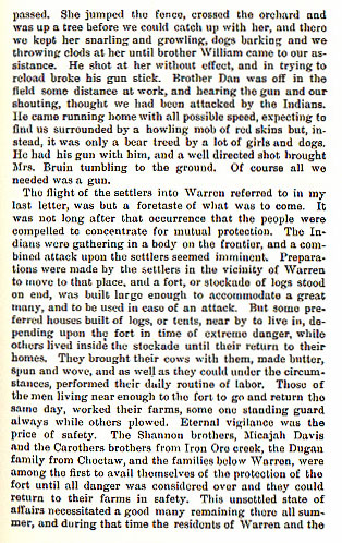 The Bear Fight and Murder of John Denton