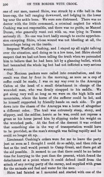 San Xavier Mission Story from the book On the Border with Crook