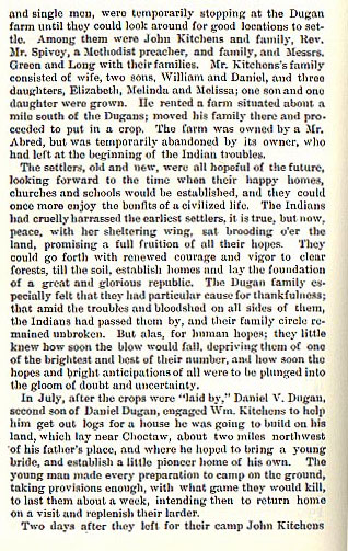 Daniel V. Dugan and William Kitchens Murdered
