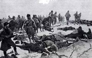 Frederic Remington's, Massacre of the Cheyennes near Fort Robinson in Nebraska, 1879