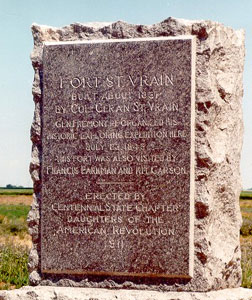 Picture of Fort St. Vrain Monument
