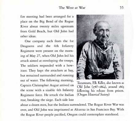 Story of Rogue River Wars