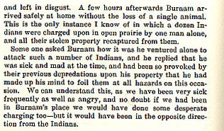 Jesse Burnham story from the book Indian Depredations in Texas by J. W. Wilbarger