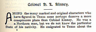 Colonel H. L. Kinney