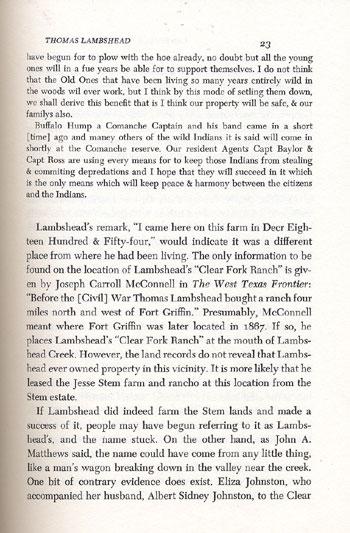 Lambshead's Letter