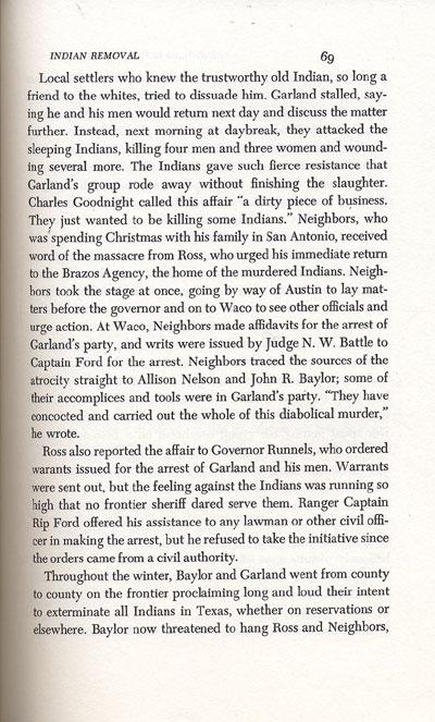 Choctaw Tom's Murder