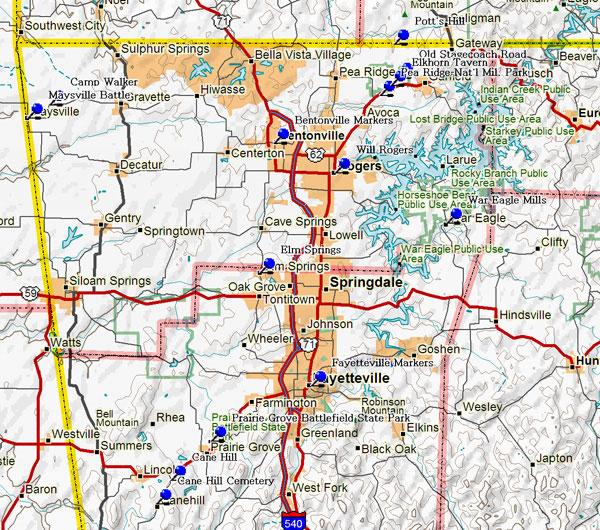 Map Of Northwest Arkansas Top Map Of Northwest Arkansas Photos   Printable Map   New  Map Of Northwest Arkansas
