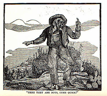 William Barton's Scalp picture from the book Indian Depredations in Texas by J. W. Wilbarger