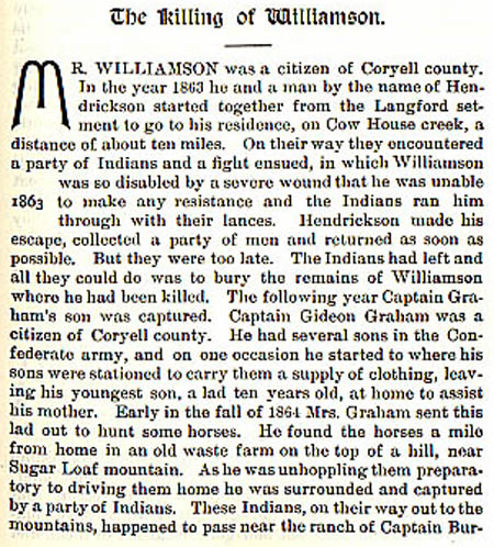 Williamson Story by WIlbarger