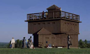 Picture of Blockhouse at Fort Abraham Lincoln