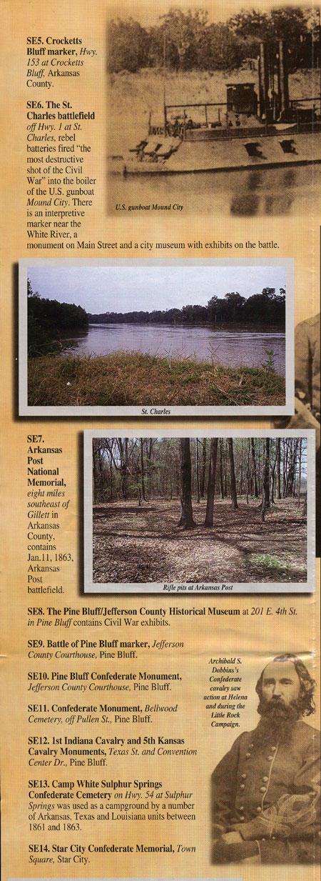 Southeast Arkansas Points of Interest