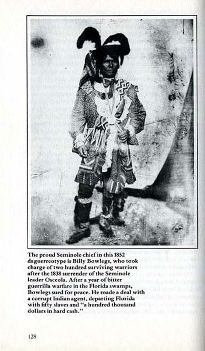 Picture of Seminole Chief Billy Bowlegs