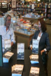Rick Steed and Wendi Pierce at a book signing promoting their new book, Historic Road Trips