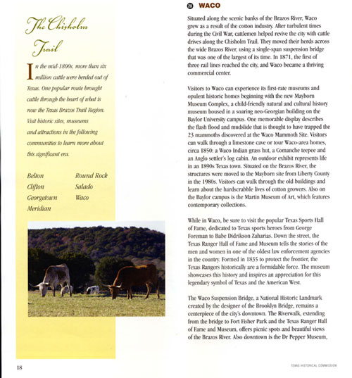 Brazos Trail Brochure