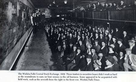 Wichita Falls Central Stock Exchange Pictures