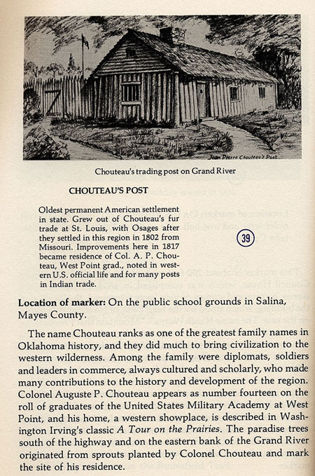 Chouteau's Trading Post Picture