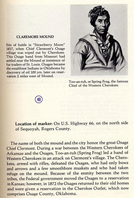 Claremore Mound Picture