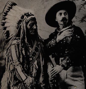 Picture of Sitting Bull and Buffalo Bill Cody