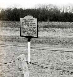 Picture of Cow Creek Historical Marker