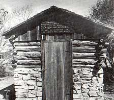 Picture of Fort Croghan Outpost Building - Photo by Charles M. Robinson III from the book, Frontier Forts of Texas