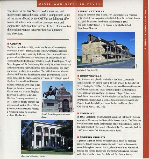 Civil War Sites Listings