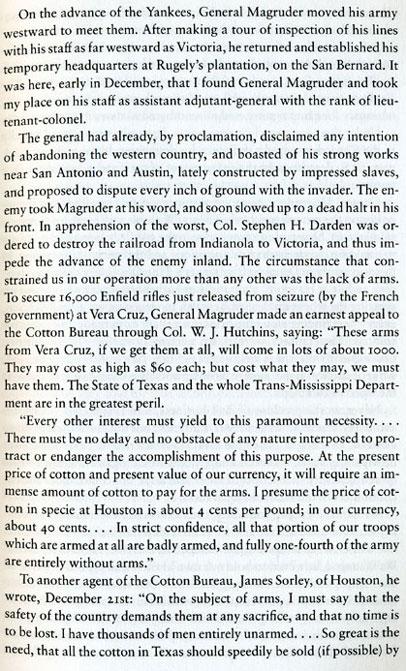 Coastal Texas in the 1860's