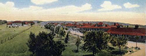 Drawing of Fort Bayard
