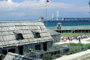 Picture of Fort Michilimackinac
