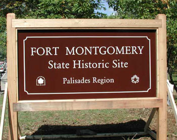 Picture of Fort Montgomery Sign