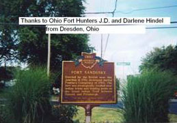 Picture of Fort Sandusky Historical Marker