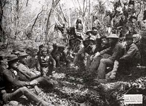 Picture of Gen. Crook and Geronimo