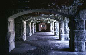 Picture of Gun Casements at Fort Gorges