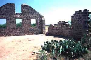 Picture of Fort Griffin Ruins