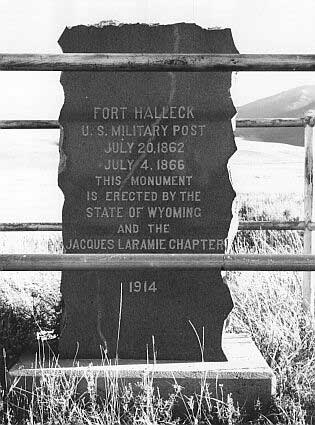 Picture of Fort Halleck Monument