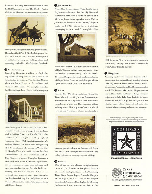 Hill Country Trail Brochure