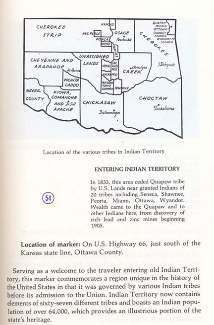 Entering Indian Territory Picture