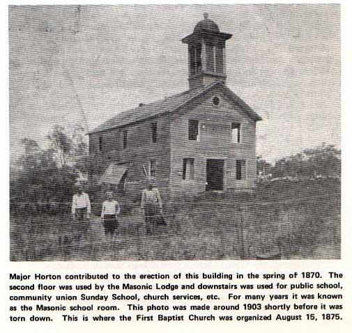 Jack County Masonic Lodge, School and Church