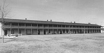 Picture of Fort Laramie Cavalry Barracks