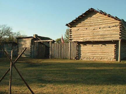 Mansker's Station Fort Picture