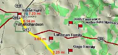 Jacksboro Map