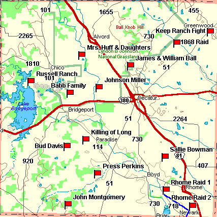 Wise County Map