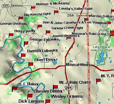 337 Through Dalton's Pass Map