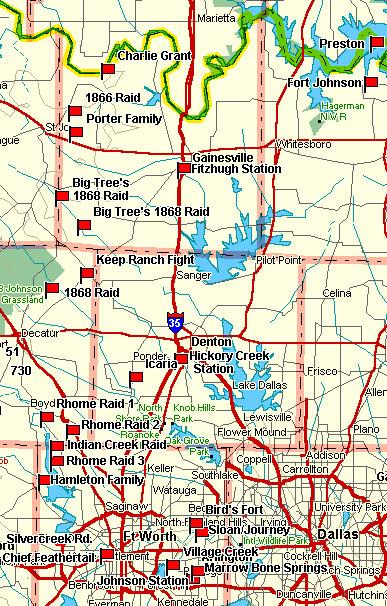D/FW Metroplex Fort Worth Map