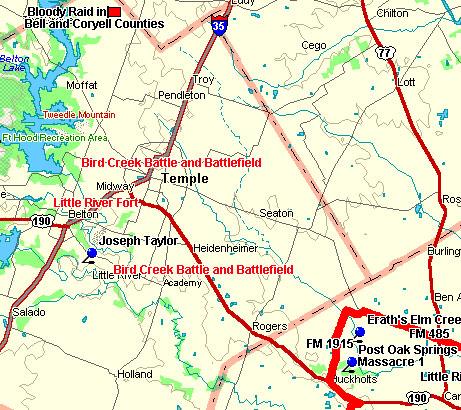 Little River Map